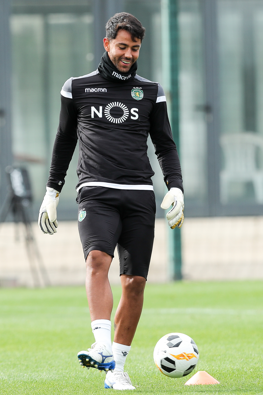 Renan sem limitações no regresso do Sporting ao trabalho