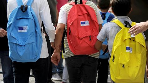 As mochilas que perdem peso na universidade