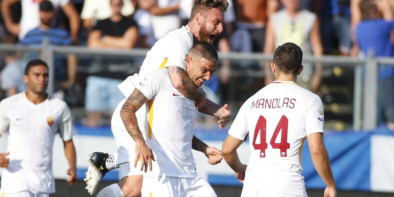 Livre de Kolarov garante vitória da Roma na estreia na Serie A