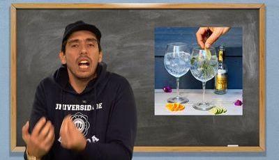 Universidade da Vida: Ciências da Bebida - Preparar um Gin