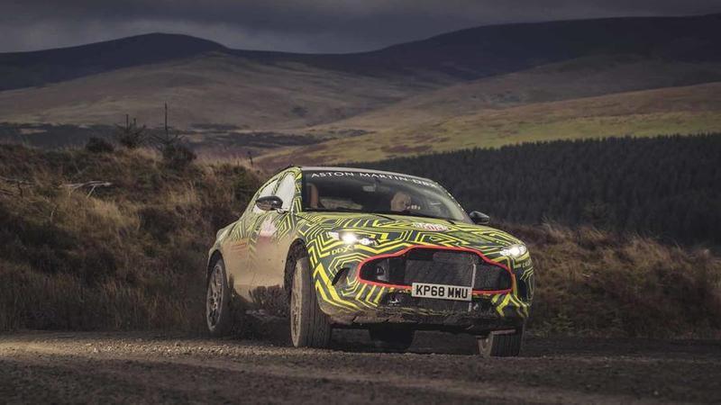 Aqui está o Aston Martin DBX, o primeiro SUV da marca britânica