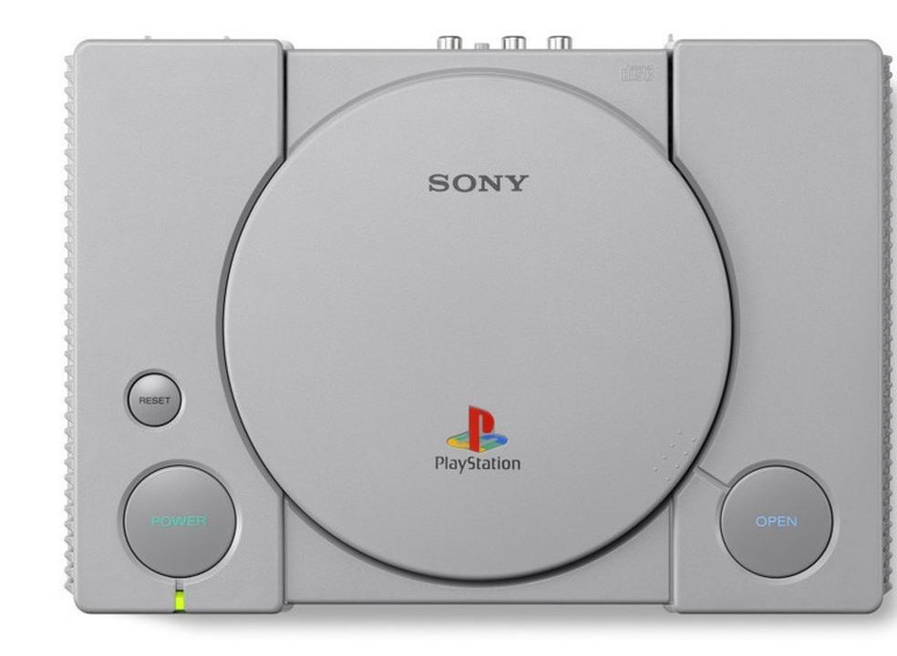 PlayStation Classic vai chegar em dezembro com 20 jogos instalados