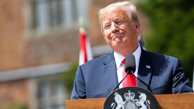 Trump diz que União Europeia, China e Rússia são inimigos dos Estados Unidos