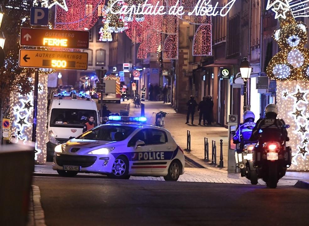 França: Novo balanço avança com três mortos e 12 feridos em tiroteio em Estrasburgo