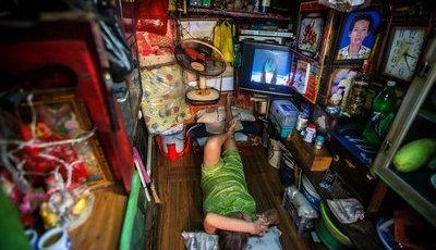 """Vietname: Como é viver numa """"casa"""" de dois metros quadrados?"""