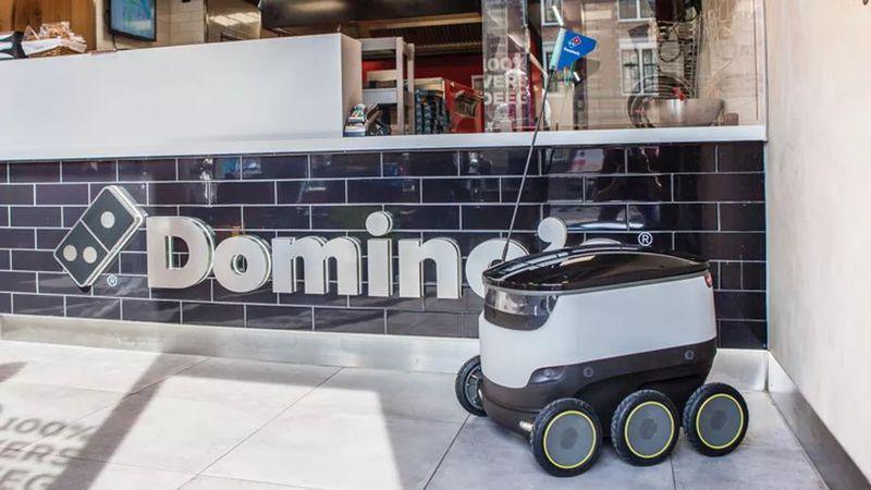Domino's vai pôr robots a entregarem pizzas na Europa a partir do verão