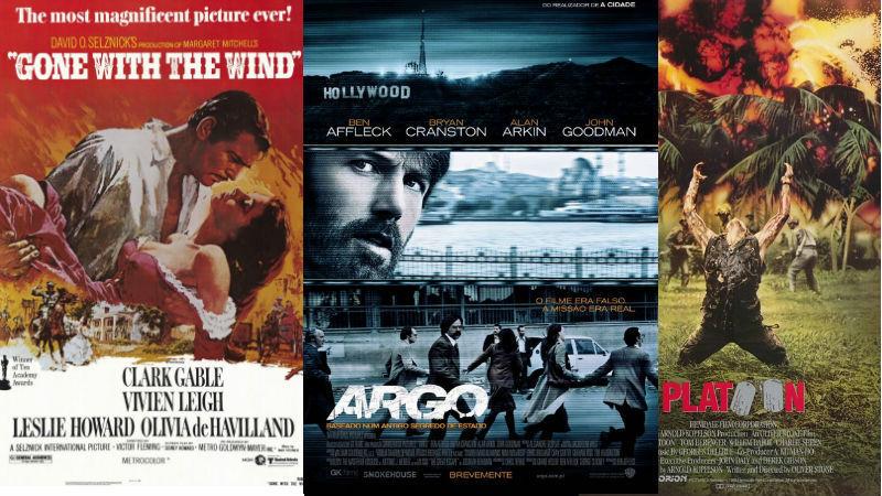 Lembra-se de todos os vencedores do Óscar de Melhor Filme?