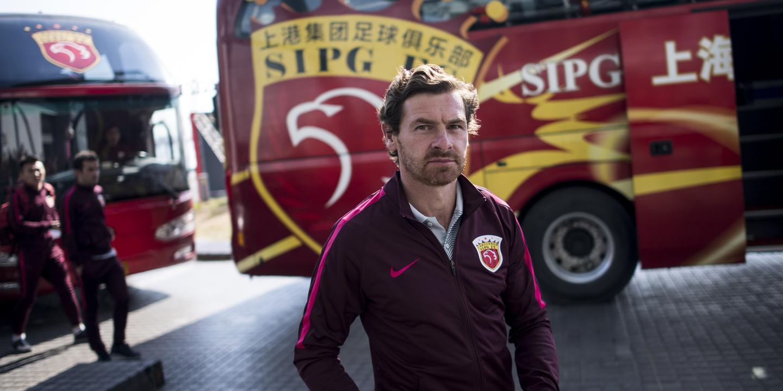 André Villas-Boas joga final decisiva para a sua continuidade na China