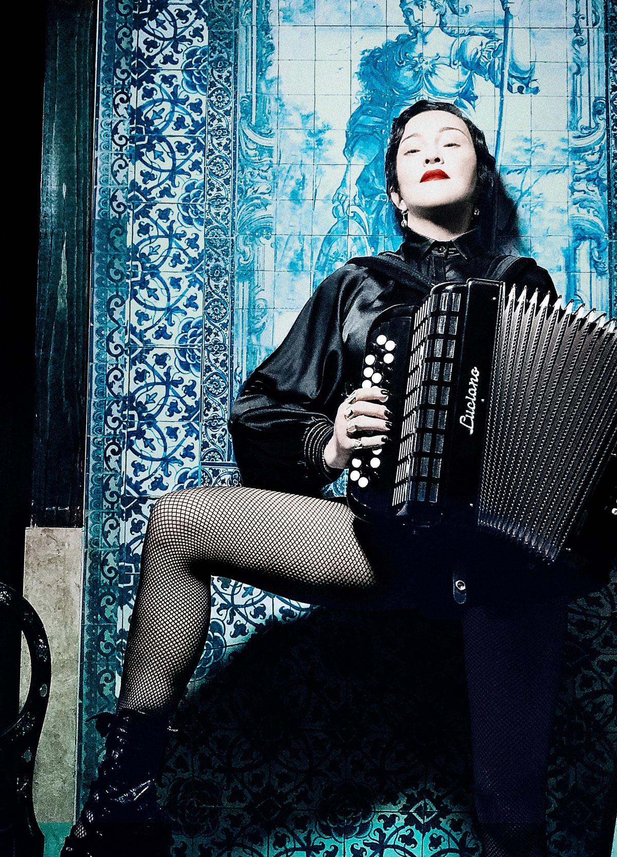 Madonna recorre à crioterapia para tratar nódoas negras