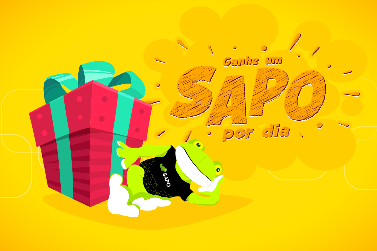 Passatempo SAPO 25 anos: o SAPO dá-te peluches em Abril