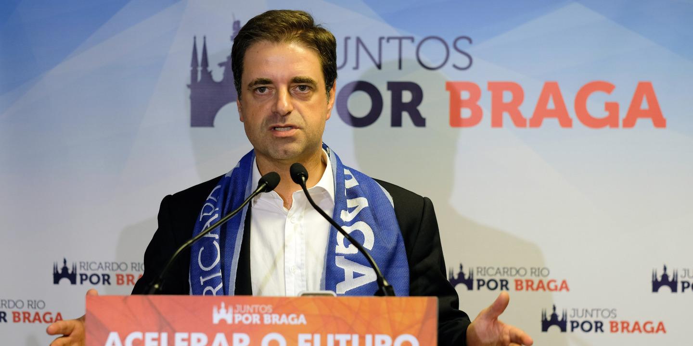 """Ricardo Rio: """"SC Braga começou tarde demais o campeonato"""""""