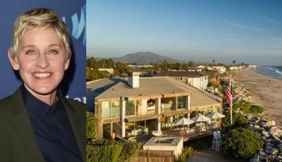 Conheça a luxuosa casa de Ellen DeGeneres
