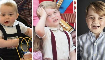 Príncipe George completou mais um ano de vida