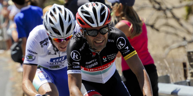 Ciclista Tiago Machado internado, mas sem problema muito grave