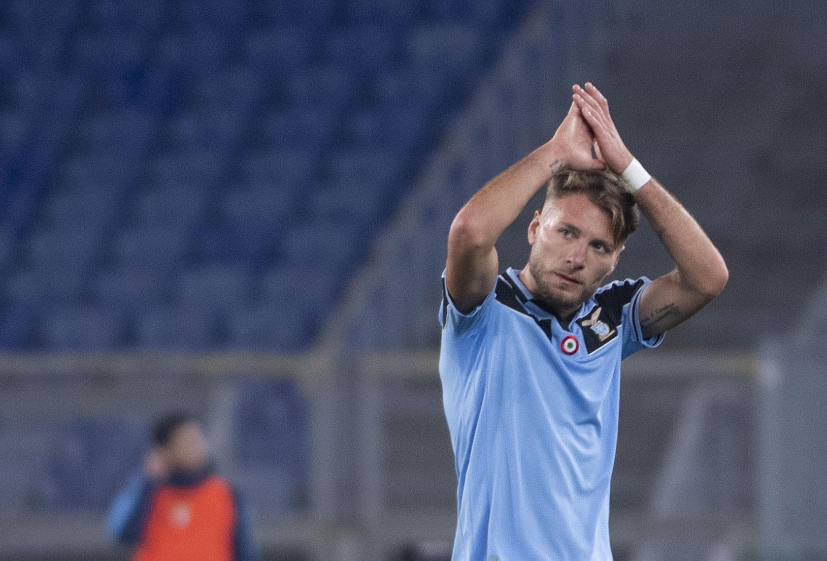 Immobile marca 'hat-trick' e Lazio segue imparável