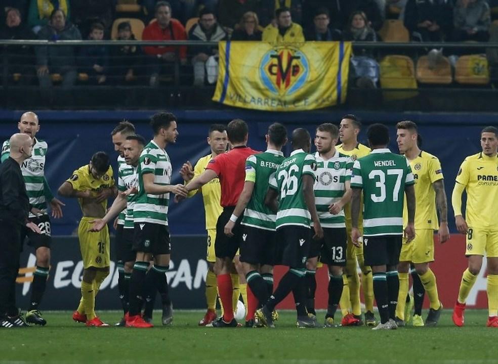 Leão ficou a um tiro de afundar o submarino amarelo, e está fora da Liga Europa