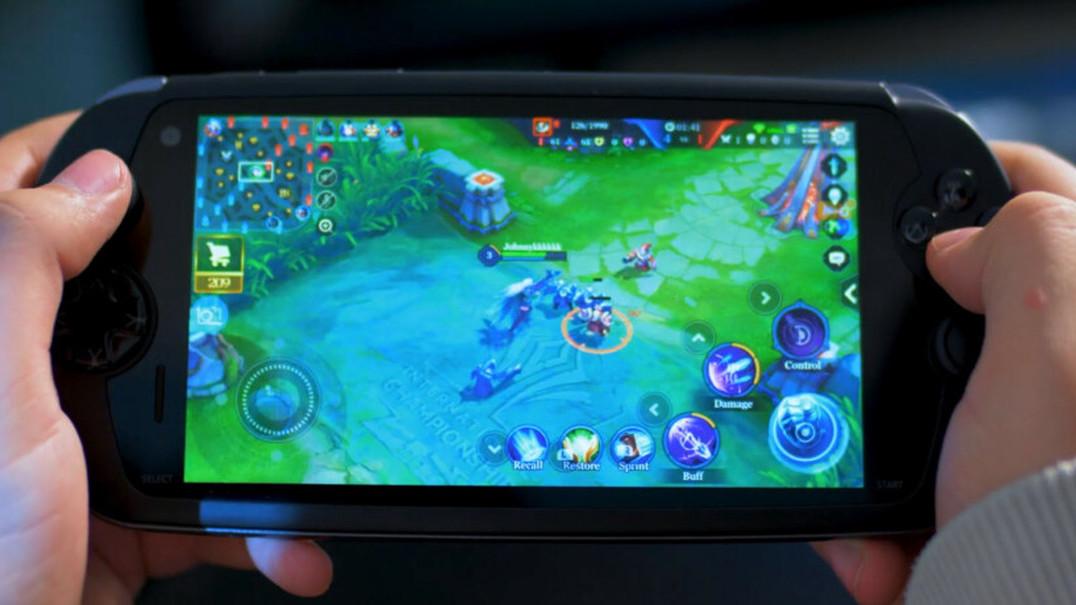 MOQI, o smartphone para videojogos