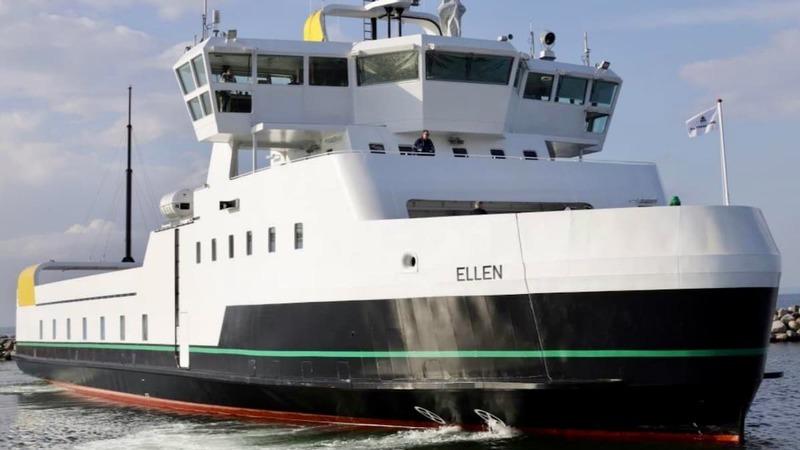 O maior ferry totalmente elétrico do mundo completa a sua viagem inaugural