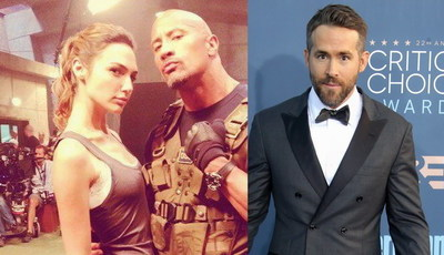 O filme mais caro: Netflix abre os cordões à bolsa por Dwayne Johnson, Gal Gadot e Ryan Reynolds