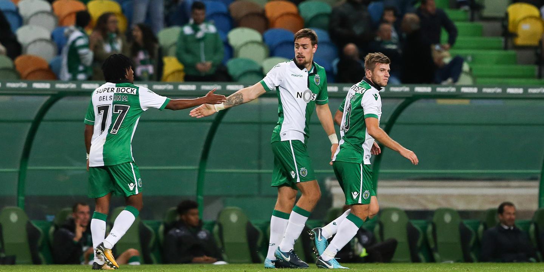 Coates e Bas Dost colocam Sporting nos 'oitavos' da Taça de Portugal