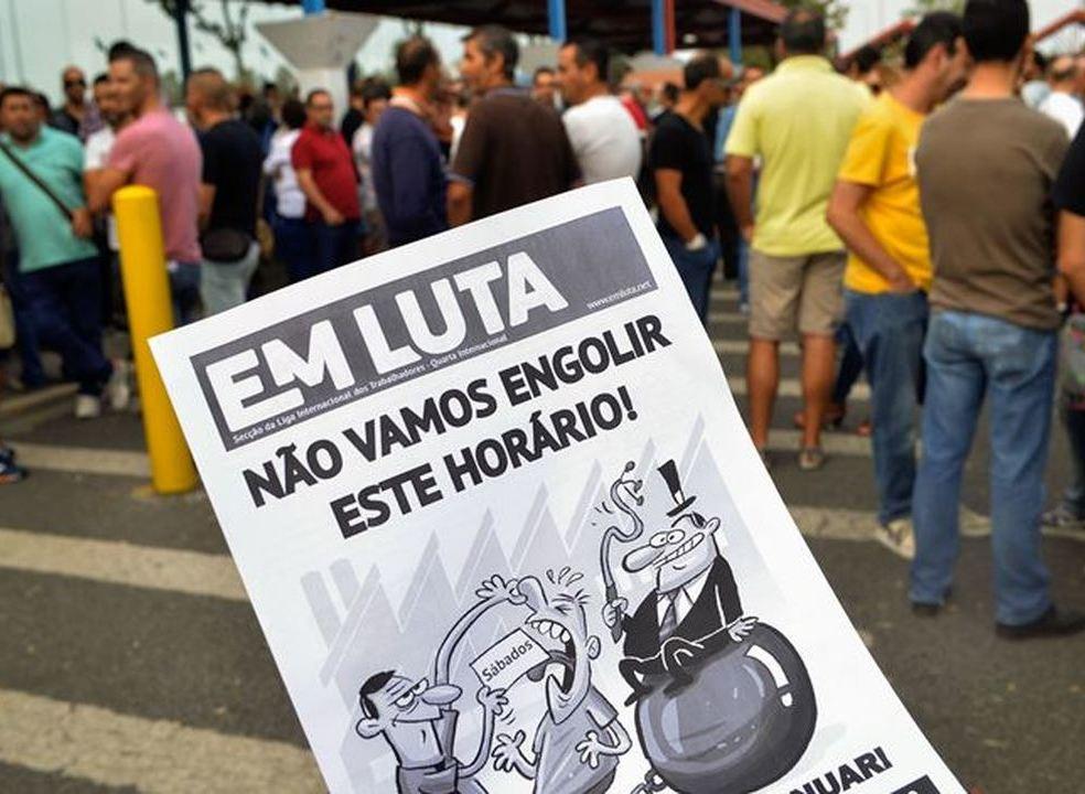 Autoeuropa retoma na próxima semana negociações para discutir remuneração do trabalho ao domingo