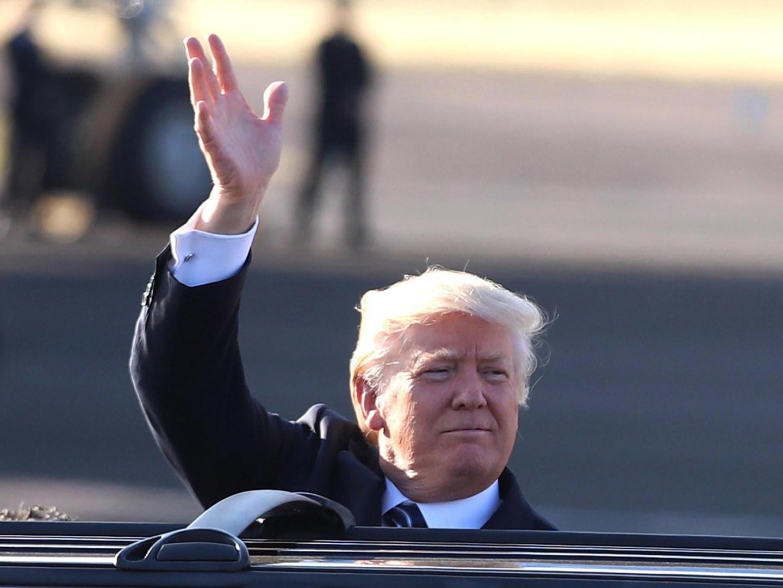 """""""É uma grande honra estar aqui com todos os meus amigos"""". A mensagem de Trump no Museu do Holocausto de Israel"""