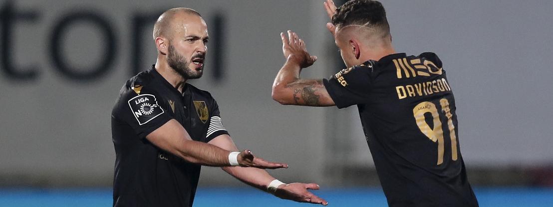 V. Guimarães regressa às vitórias frente ao Aves e vinca candidatura à Europa