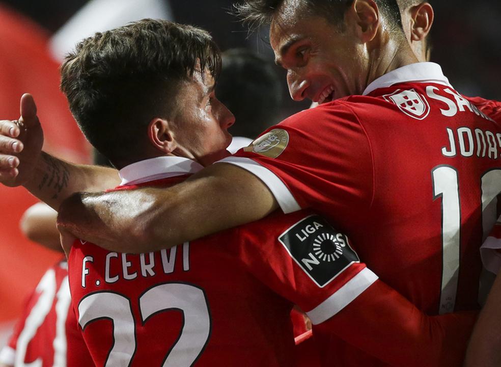 Cervi e Krovinovic bateram a 'muralha' Cristiano e Benfica já está nos oitavos da Taça de Portugal
