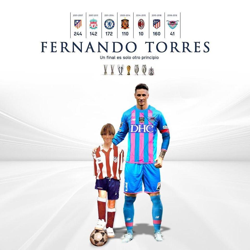'El Niño' Fernando Torres despede-se do futebol após derrota amarga frente à equipa de Iniesta