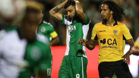 """Miguel Soares: """"Não estava à espera do remate do Bruno Fernandes"""""""