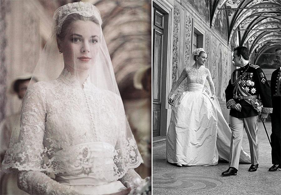Vestido de noiva de Grace Kellly