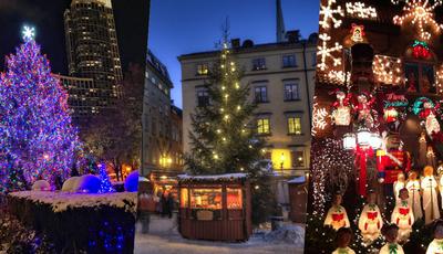 Os 10 melhores bairros do mundo para celebrar o Natal