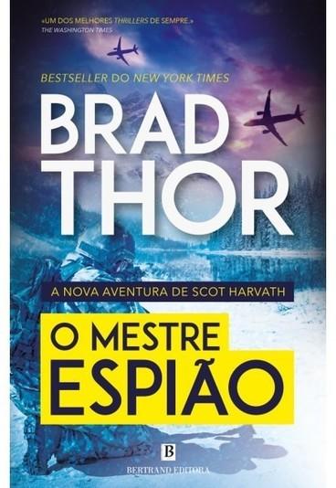 """Ganhe o livro """"O Mestre Espião"""", de Brad Thor"""