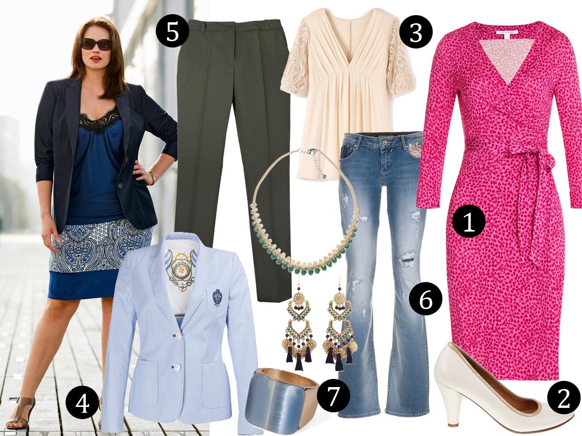 7 itens que não podem faltar num guarda roupa plus size