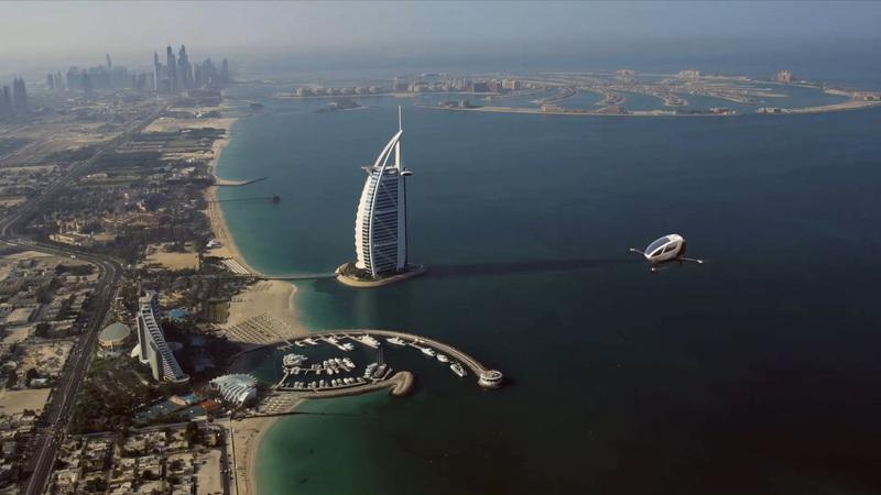 """Dubai com frota de """"táxis voadores"""" a partir do próximo mês de junho"""