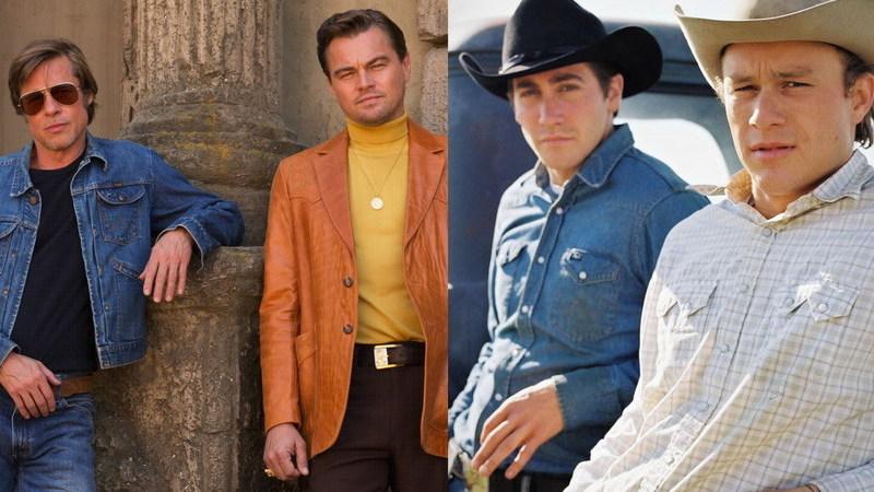 """DiCaprio e Pitt: antes de Tarantino os juntar, recusaram fazer """"Brokeback Mountain"""""""