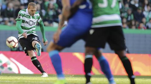 """Mathieu: """"Na segunda parte não se jogou futebol"""""""