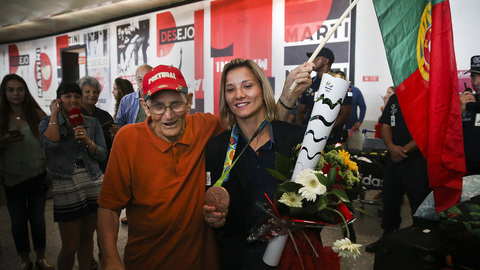 """Telma Monteiro: """"Todos vão continuar a trabalhar e a superar as críticas"""""""