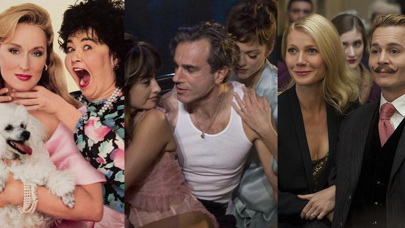 """40 maus filmes que """"caçaram"""" grandes atores"""