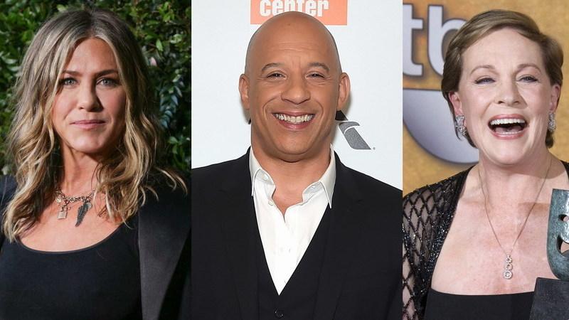Os nomes que Jennifer Aniston e outras estrelas quiseram esconder