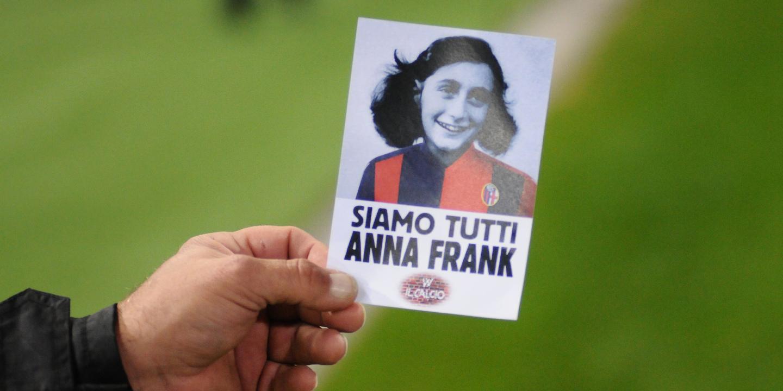 Lazio arrisca dois jogos à porta fechada pelo uso de imagens de Anne Frank
