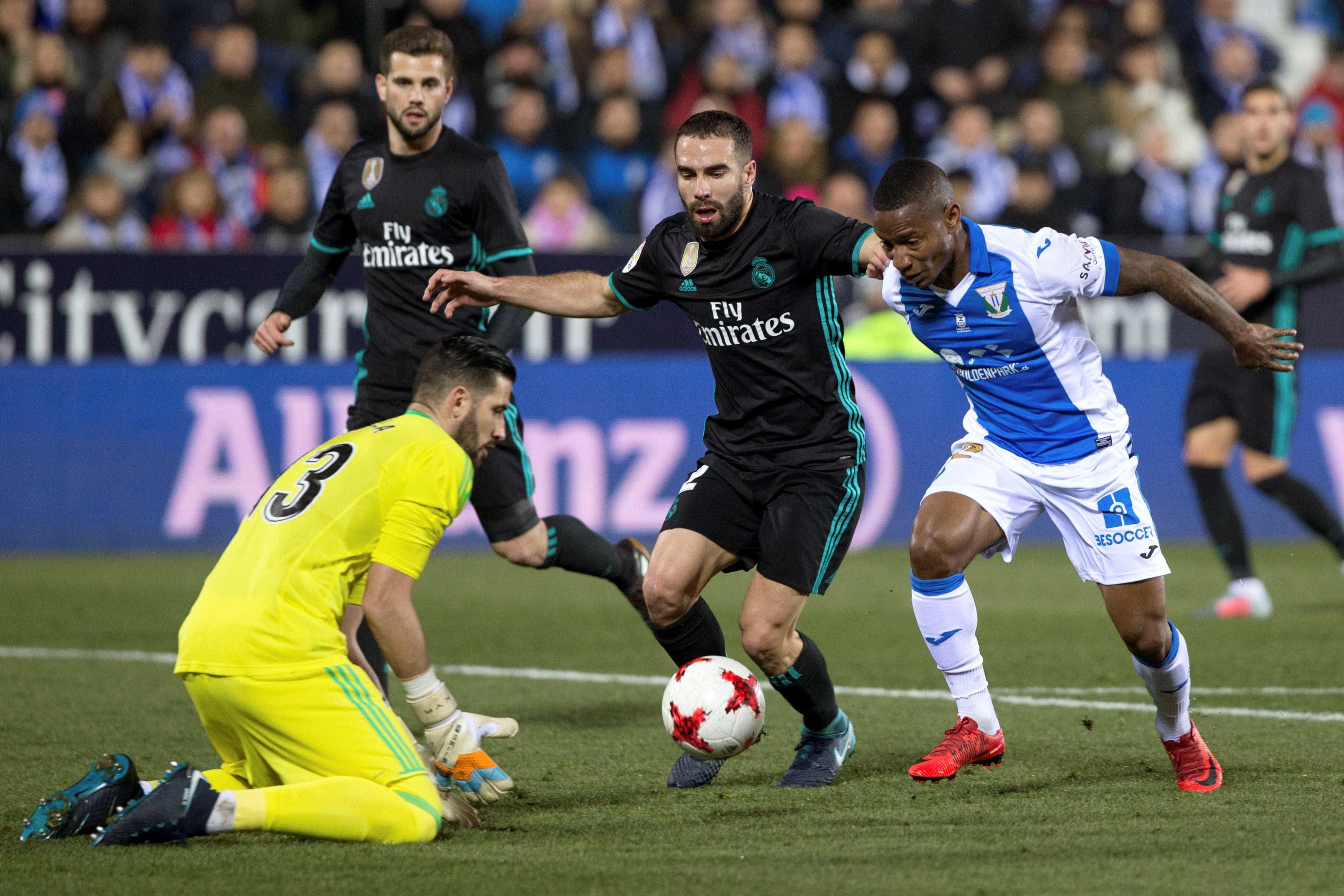 Taça do Rei: Real Madrid visita e vence Leganés