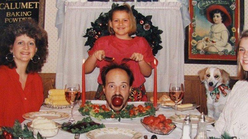Provavelmente, as fotos de natal mais hilariantes de sempre