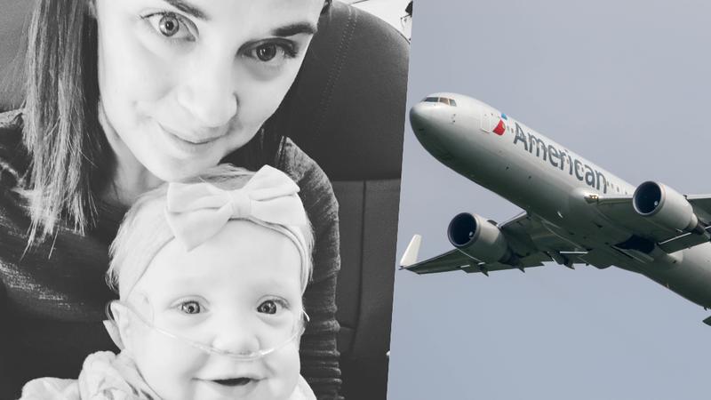 Homem cedeu lugar em primeira classe para uma mãe que viajava com a filha doente