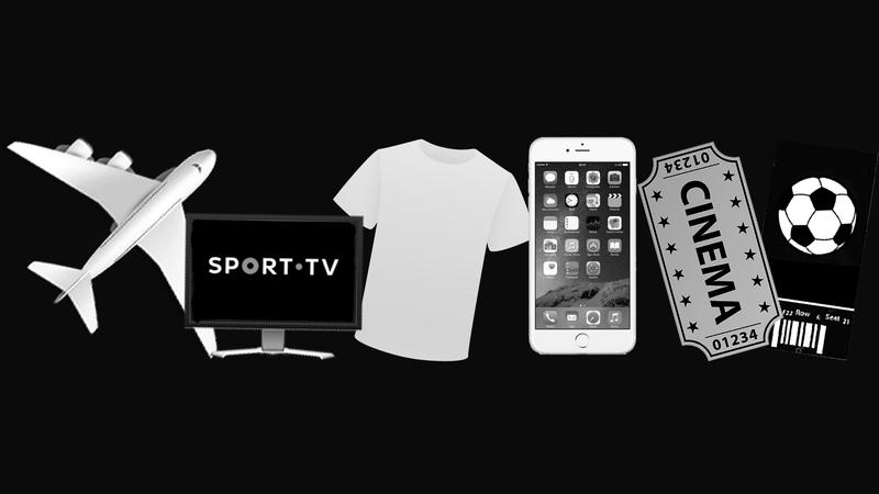 Das t-shirts à Sport TV, bancos voltam aos brindes para atrair clientes