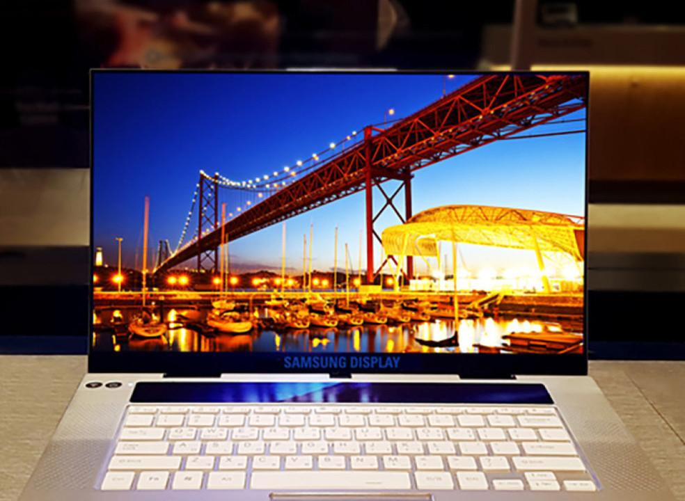 """Samsung """"reclama"""" o primeiro ecrã OLED 15,6 polegadas 4K para portáteis"""