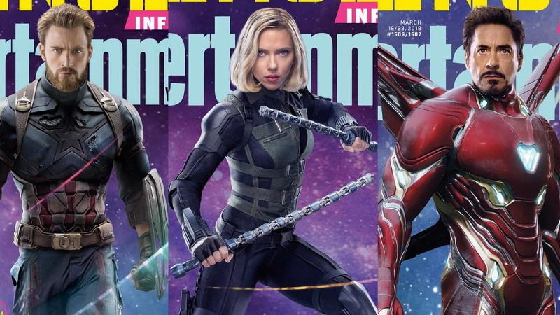 """""""Vingadores: Guerra Infinita"""": revista lança 15 capas épicas com super-heróis"""