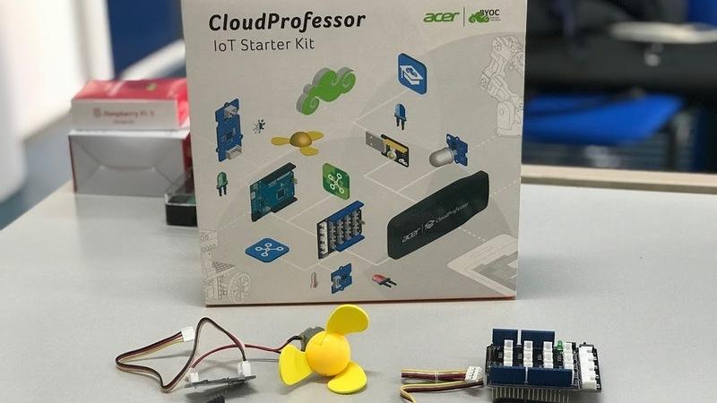 Acer CloudProfessor: Veja como é fácil controlar um LED
