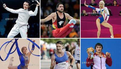 """Jogos Olímpicos nos Sete Reinos: Como seriam as personagens de """"A Guerra dos Tronos"""" se fossem atletas?"""