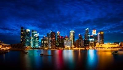 As imagens do prazer de viver em Singapura